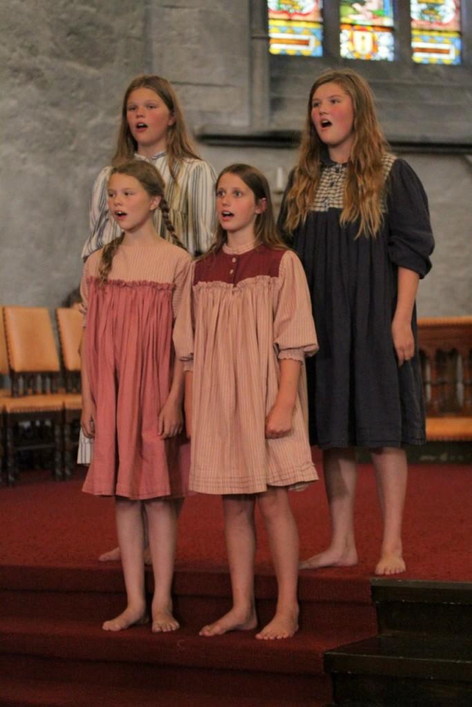 2.barn domkirken -foto Vibeke Seldal Kristiansen