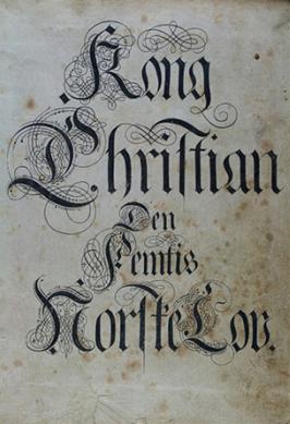 christian_norsk_lov_norskrettsmuseeum
