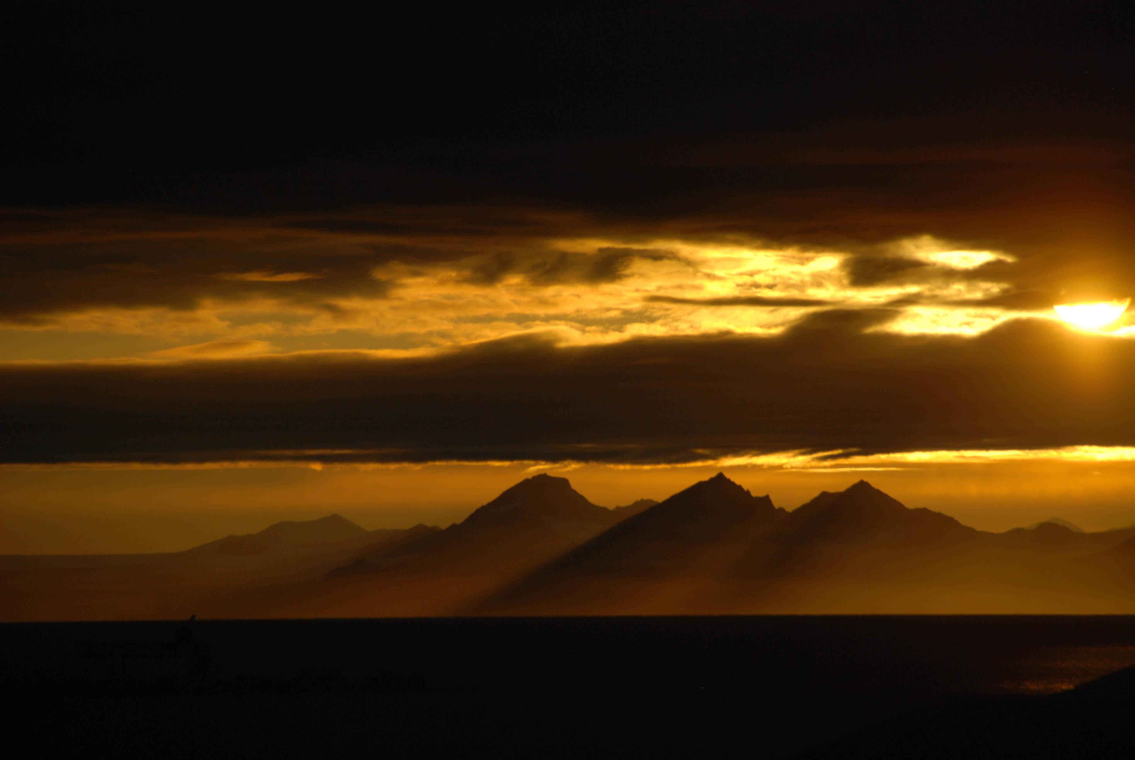 Utsikt over Isfjorden, Ellinor