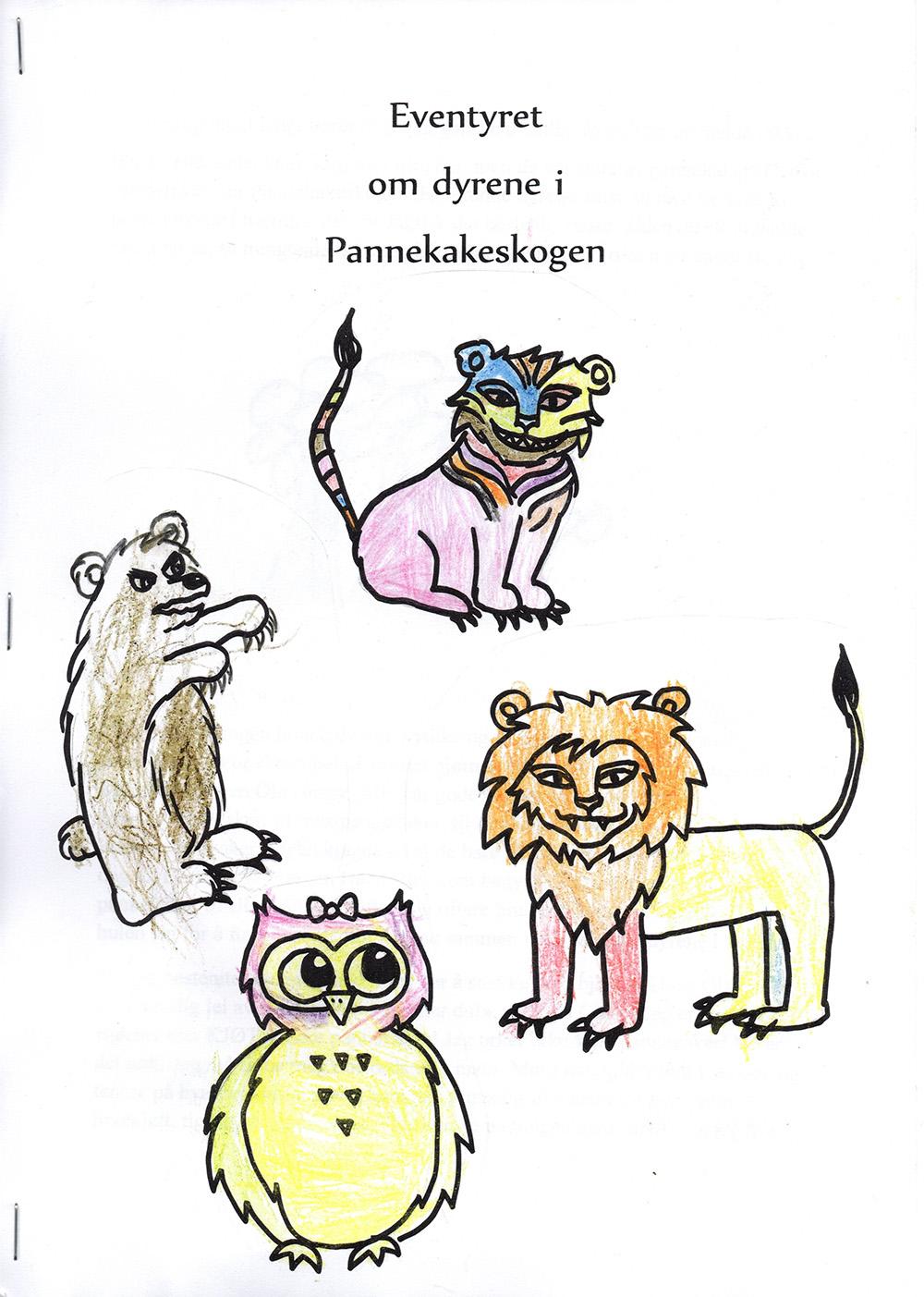 Eventyret om dyrene i Pannekakeskogen