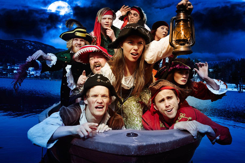 Piratene i båt Untitled Catalog1603