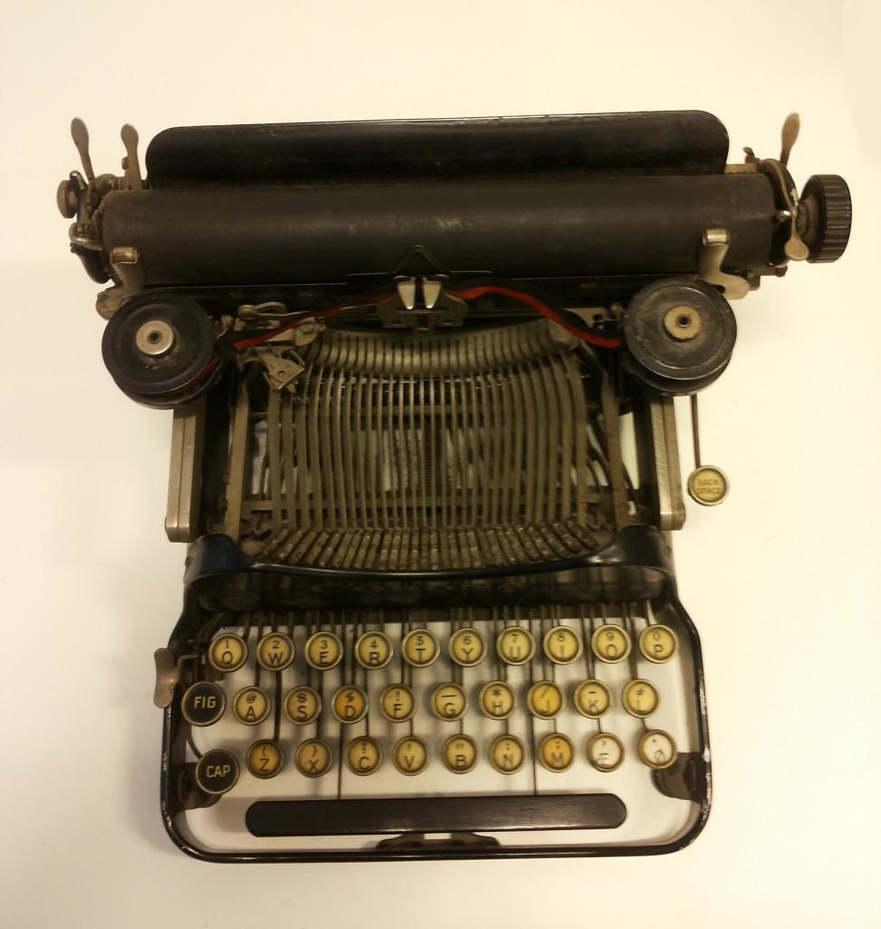Elises skrivemaskin