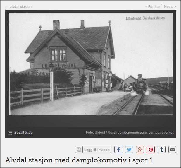 tirsdag_Avdal stasjon digitaltmuseum