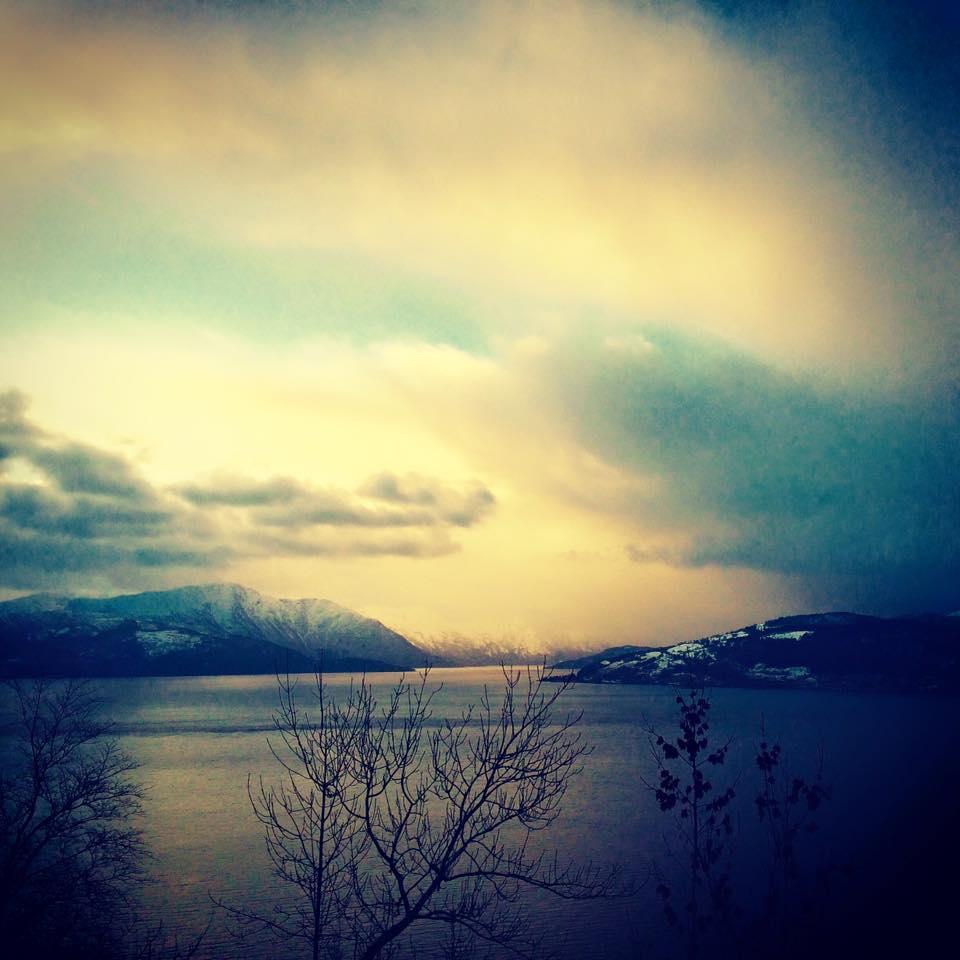 utsikt hardangerfjorden