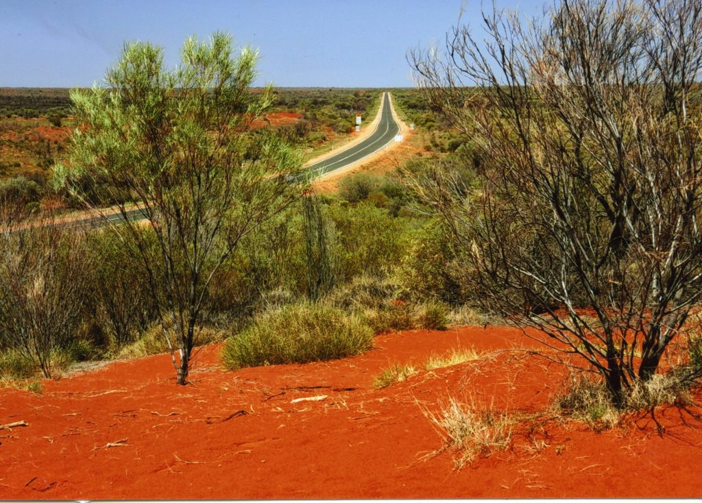 Den australske bushen