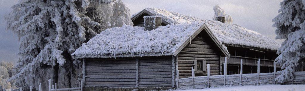 «Bjørnstad» i vinterskrud