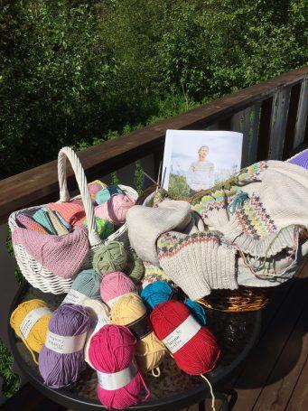 Sommerens strikkeprosjekt