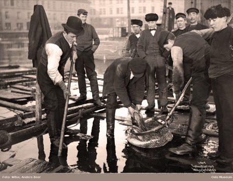 Fiskebryggen. Foto: Wilse, Anders Beer / Oslo Museum