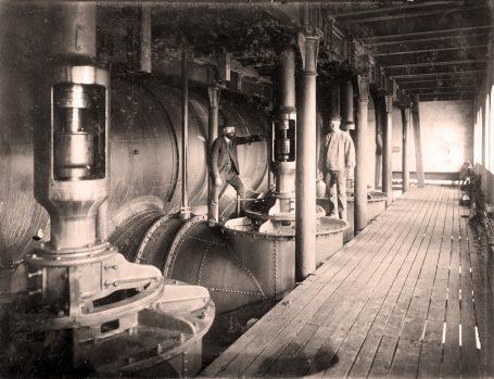 Myrens verksted. Foto: Norsk Teknisk Museum