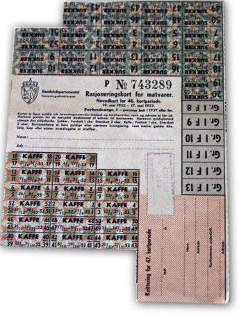 Matrasjoneringskort