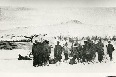 Norske flyktninger i Nord-Sverige.