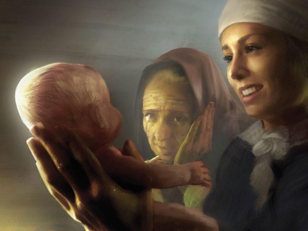 Margot har vært viktig for Rebekka gjennom både gode og vanskelige tider.