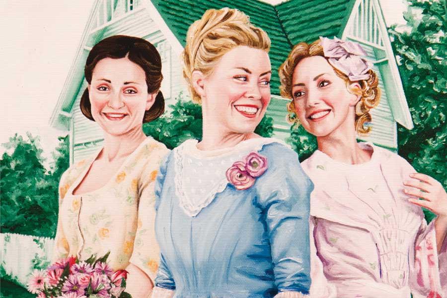 Blanche, Abelone og Ellen