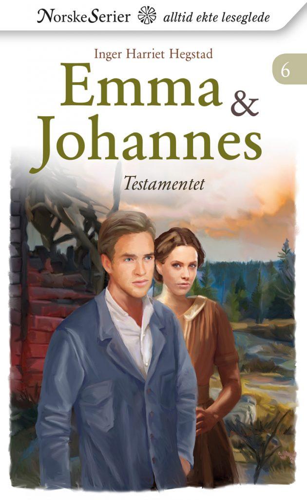 Emma & Johannes 6 av Inger Harriet Hegstad