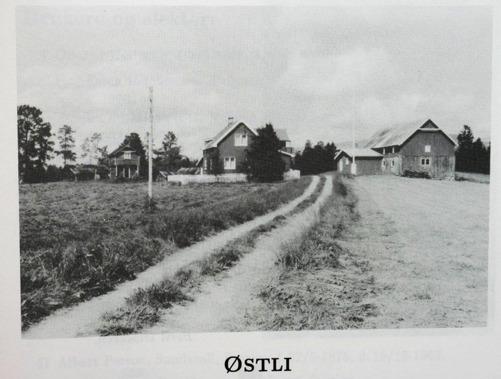 Småbruket Østli i Tufsingdalen