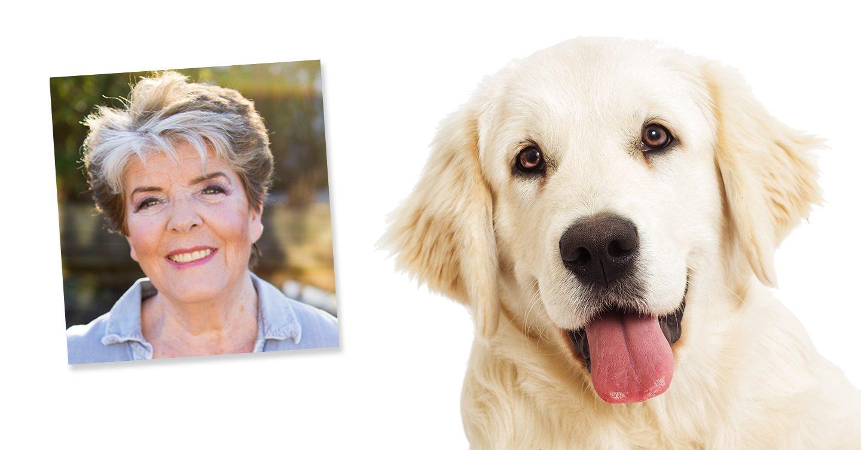 Anne-Lise + hund