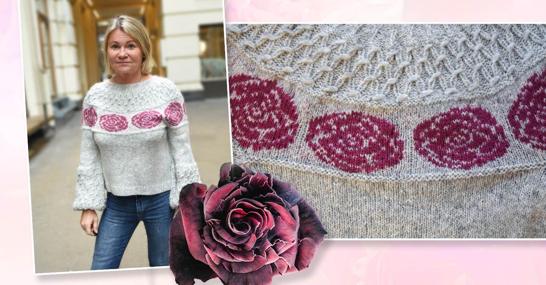 f34d0682 Vinn Frostrose-genser laget av Elisabeth! - Serieliv